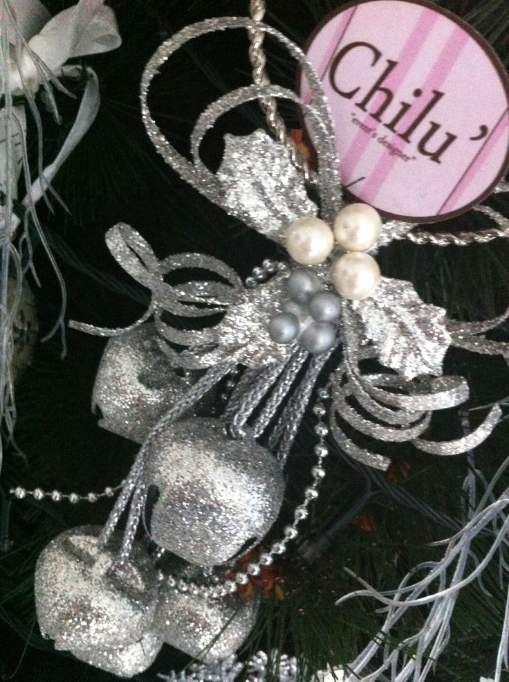 Decorazione di Natale argento