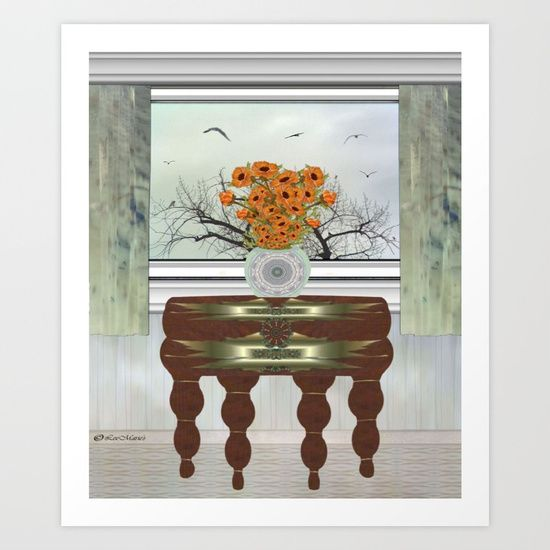 Collect your choice of gallery quality Giclée, or fine art prints custom trimmed by hand in a variety of sizes with a white border for framing.     https://society6.com/product/drawing-t7l_print?curator=listenleemarie