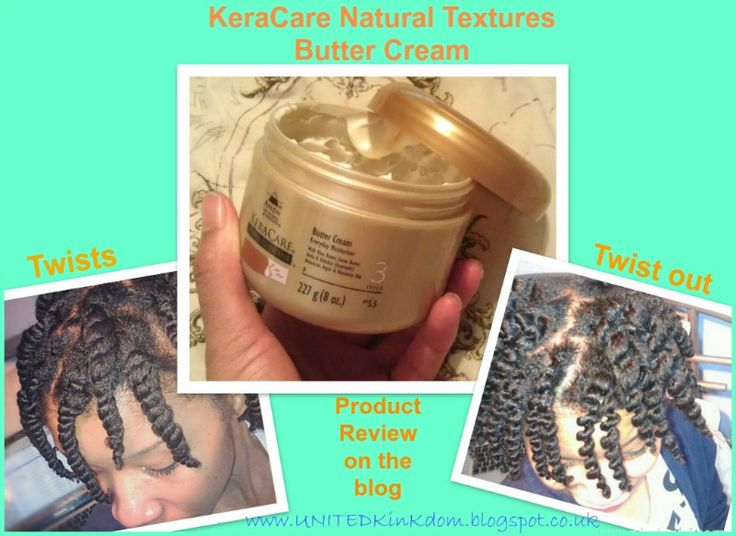 Keracare Natural Textures Butter Cream Review
