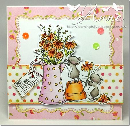 LOTV - Delightful Daisies by Anne Richardson