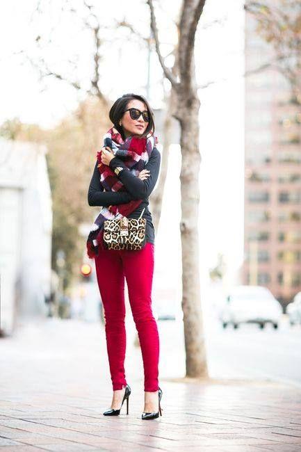 Про большие шарфы (и не только) - Мода проходит, стиль остается? Таки да!