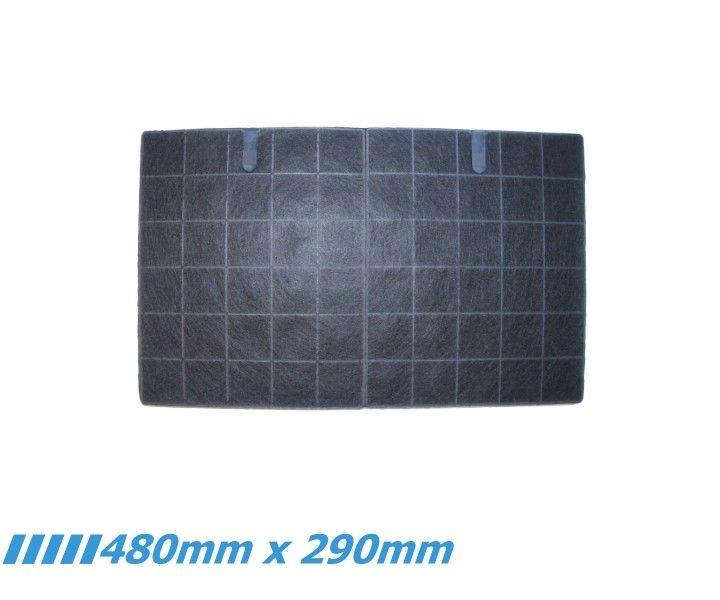 Dunstabzugshauben Aktivkohlefilter DHKF02 für verschiedene Geräte der Hersteller/Händler VTS Schlauchtechnik (erloschen), Sirius, Pauen, Kruse, HKT...