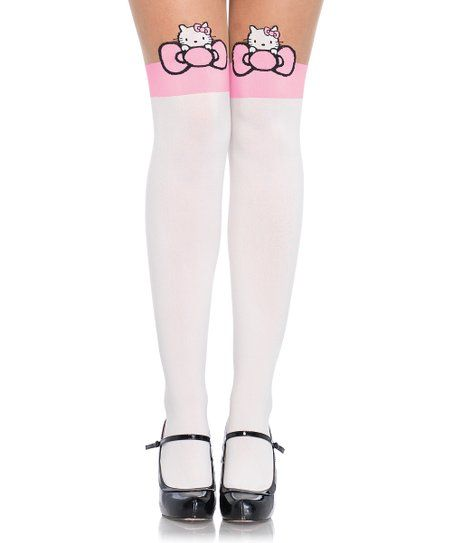fcf732f78 Hello Kitty Bow Tights for Halloween Costume for Women. Check out these  super cute Sanrio Hello Kitty Halloween Tights!    Click now to buy in time  for ...