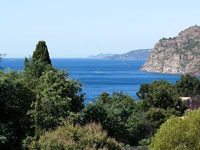 Le-Rayol-Canadel-sur-Mer villa rental - The view from the villa over the beautiful Mediterranean Sea