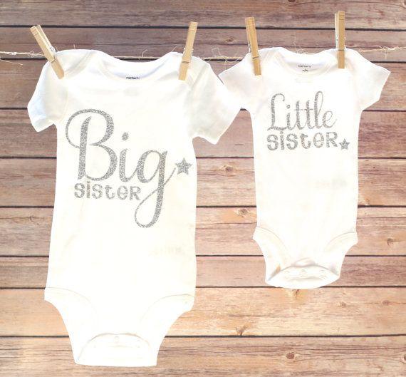 Big Sister Little Sister Big Sister Shirt Little by OwenAndGwen