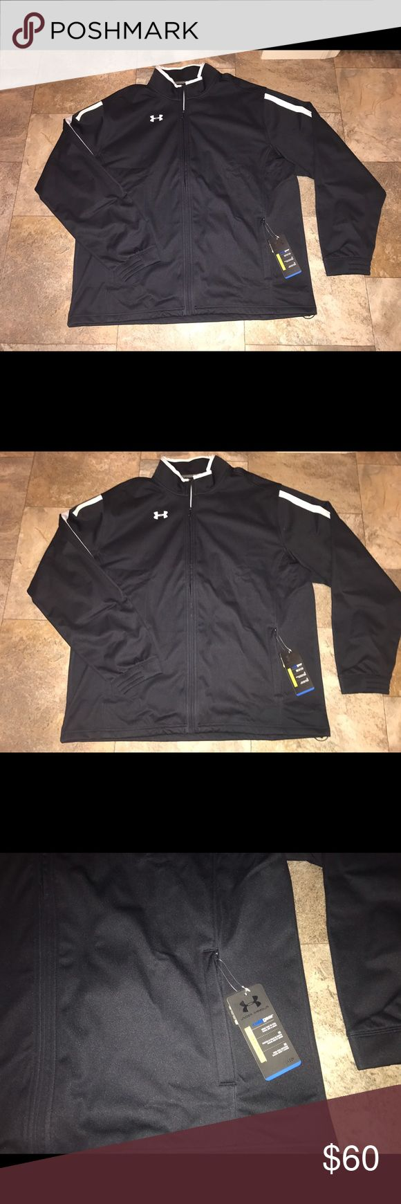 Under Armour jacket mens NWT size xlarge New with tags men's under Armour cold weather jacket tag Under Armour Jackets & Coats Performance Jackets