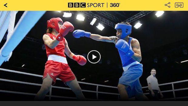 リオオリンピックの開会式や一部の試合を360度動画で視聴できるアプリ(BBC)
