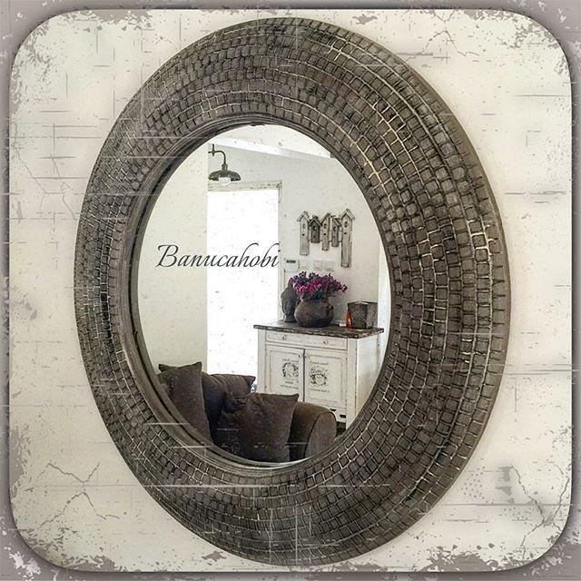 #handpainted #handpainting #boyama #dekoratifboyama #dekorasyon #homedecor #ayna #çerçeve #decor #eskitme #imagine #instagood #shabbychic #whiteandbeige #tasarım #mirror #vintagedecor