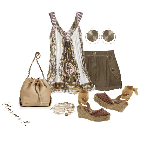 shades of brown summer outfit ~ like!