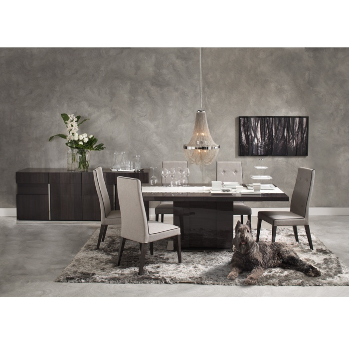 CARLYLE DINING TABLE WOOD TOP EXT   DINING TABLES   Dining Room   New York  Style Furniture   Mobilia Living With Style | Dining Room | Pinterest |  Woods, ...