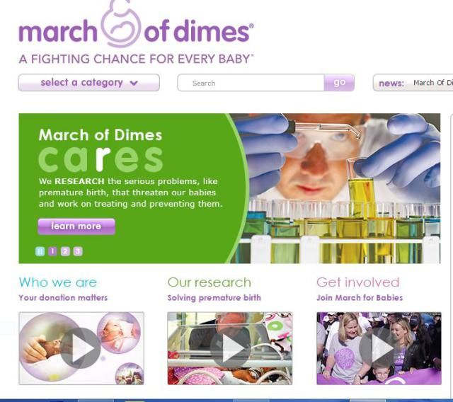 Nonprofit Mission Statements for Today's Donors: March of Dimes
