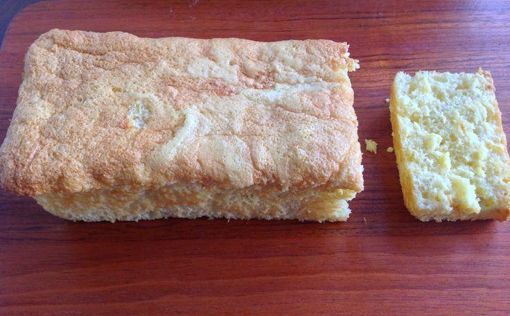 Pitadas da Bella: Bolo de laranja (Pão de ló)