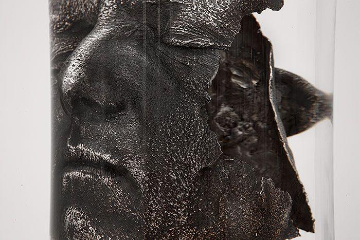 Self-portrait 14 (detail) Casper Berger