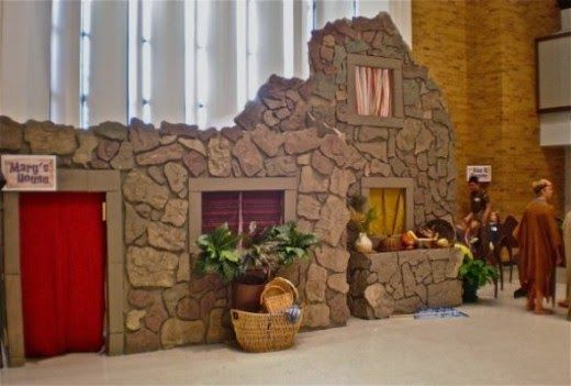 STAGE BACKDROP -  Exploring Biblical Places and Times: VBS Nazareth Decor