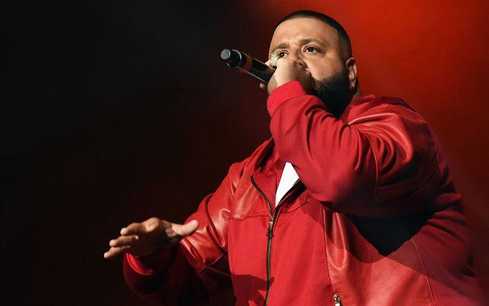 Descargar fondos de pantalla DJ Khaled, Cantante de hip-hop artista, cantante Estadounidense