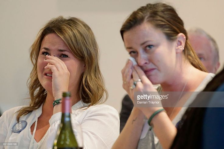 Democrat voters react to the election result at a 'Democrats Abroad' event on November 9, 2016 in Melbourne, Australia. Americans have gone to the polls today, November 8 in the U.S., to elect the 45th President of the United States. Hillary Clinton represents the Democrats and, if successful, would be the first woman president in American history. Donald Trump represents the Republicans and his campaign has been dogged by bad publicity, despite this the polls show that either of the two…