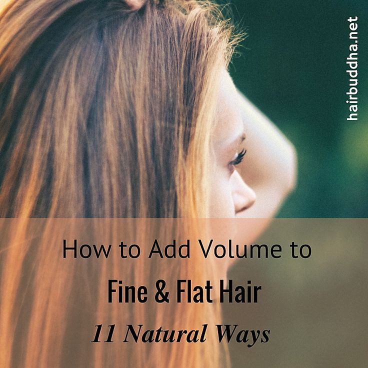If you have fine hair getting a bouncy, fuller-looking hair can be tough. Here are 11 natural ways to add volume and thickness to fine hair