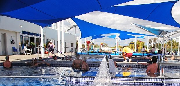 Hot Springs, Great Artesian Basin Moree | The Travel Tart Blog
