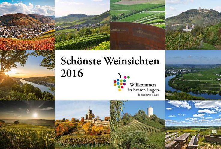 """19.04.2016 Rund 5.000 Personen haben an der öffentlichen Online-Abstimmung zu den """"Schönsten Weinsichten 2016"""" in allen 13 Weinanbaugebieten teilgenommen, die das Deutsche Weininstitut (DWI) in diesem Jahr zum zweiten Mal gemeinsam mitWeiterlesen..."""