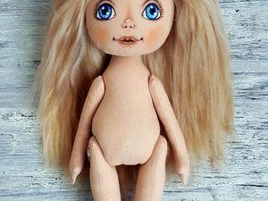 Шьем текстильную куклу | Ярмарка Мастеров - ручная работа, handmade