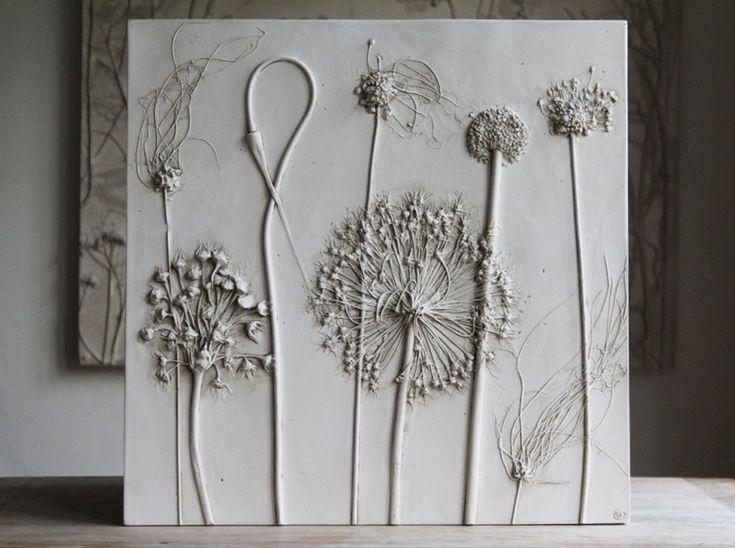 Искусные гипсовые слепки с живых растений художницы Рэйчел Дейн