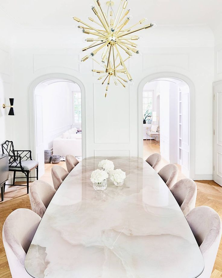 Modern Dining Room In 2020 Luxury Dining Room Dining Table Marble Luxury Dining