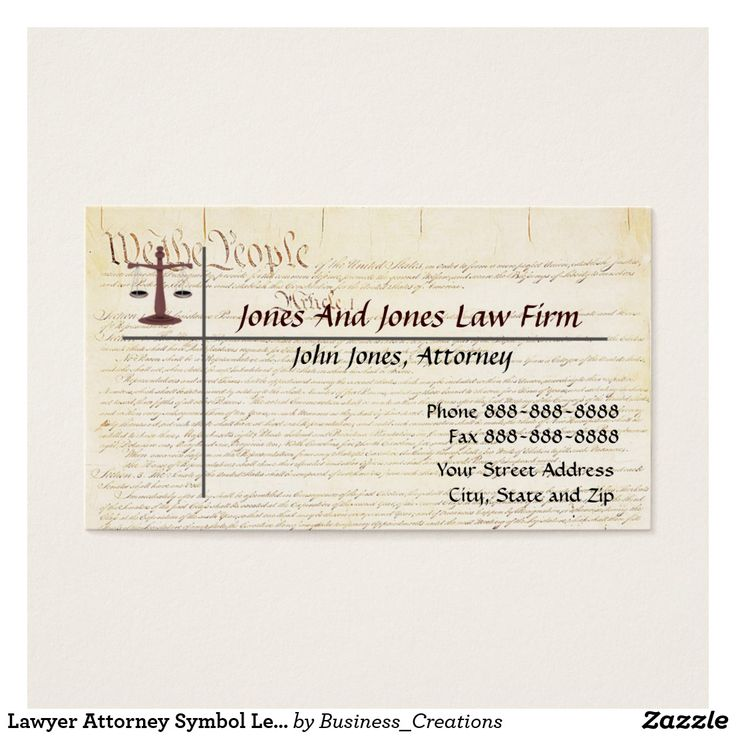 20 best Legal Law Attorney Business Cards images on Pinterest ...
