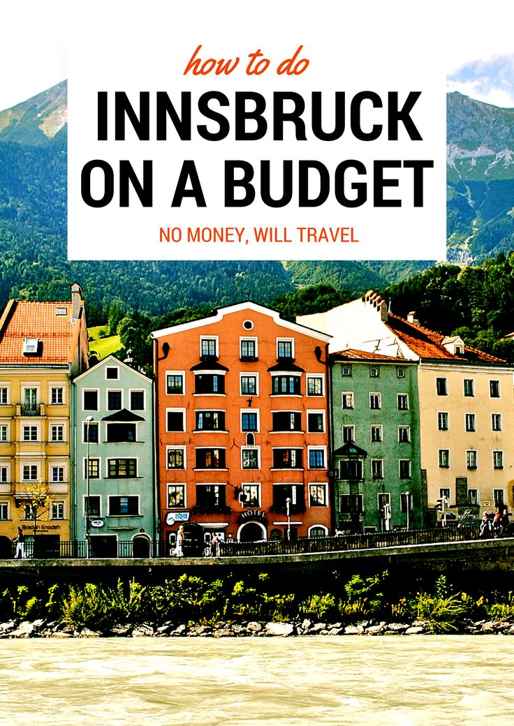 How to do Innsbruck on a Budget