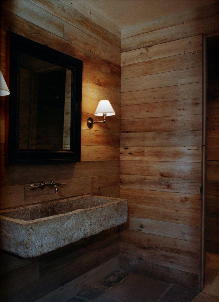 1000 images about shiplap on pinterest blanket chest - Glace de salle de bain ...