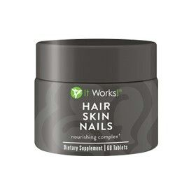 Be a more radiant, youthful looking you with supportfor stronger nails, softer and smoother skin, and shine-worthy hair! With essential vitamins, minerals,and plant-based nutrients, Hair Skin Nails enhancesyour own natural collagen and keratin production,supports healthy cell growth, and boosts your body'sfree radical fighting defenses.†It's optimal nourishmentto look your beautiful best from the inside out!