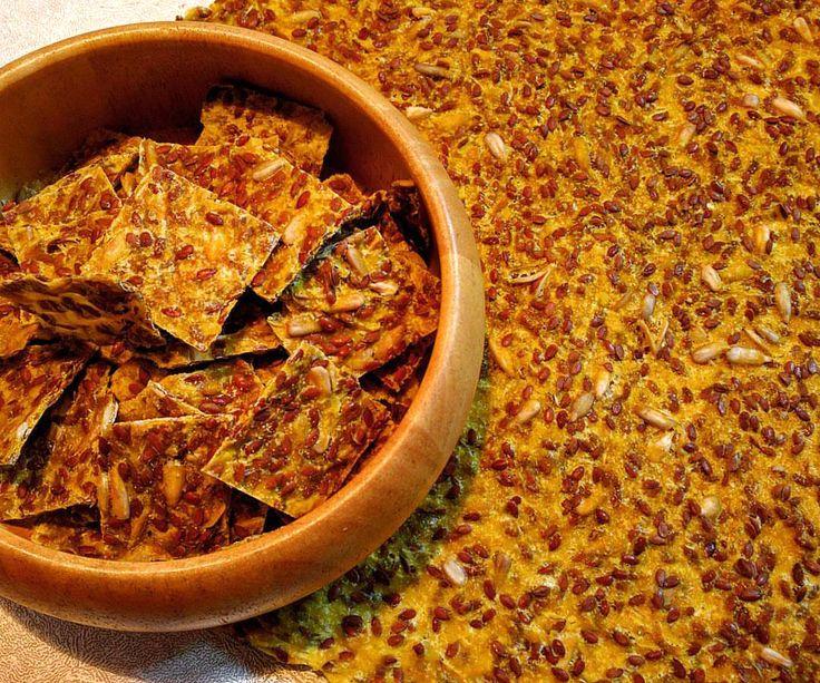 SLANÉ KREKRY a lá TORTILLY (čerstvá / mraz. kukurica, cuketa, cesnak, kajenské korenie, soľ, ľan, slnečnica)