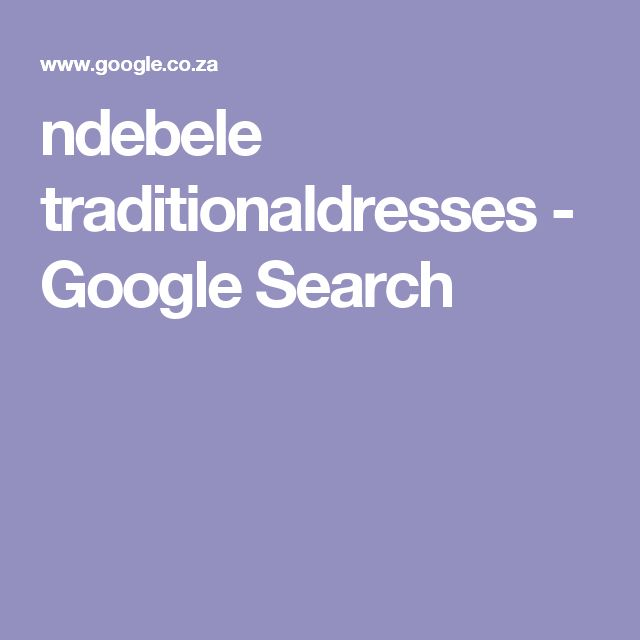ndebele traditionaldresses - Google Search