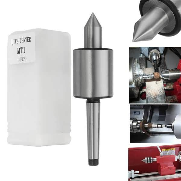 MT1 Live Center Morse Taper for Lathe Machine  Worldwide delivery. Original best quality product for 70% of it's real price. Buying this product is extra profitable, because we have good production source. 1 day products dispatch from warehouse. Fast & reliable shipment (7-25 business...