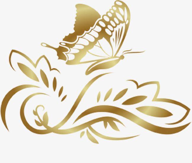 Fronteira De Padrao De Borboleta Dourada Borboleta Clipart Dourado Borboleta Imagem Png E Psd Para Download Gratuito Butterfly Clip Art Pikachu Art Graphic Design Background Templates