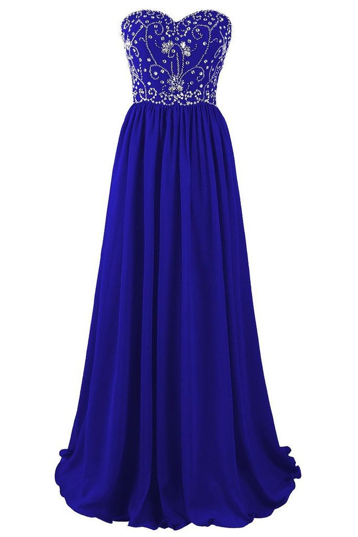 372 best our party dresses bridesmaid dresses images on beautiful blue chiffon beaded a line prom dresses blue long prom gowns party dresses evening dresses ombrellifo Images