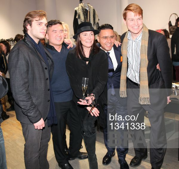 Josh Goltry, Howard Chen, Devora Goltry, Armando Lugo, Thomas McGovern at Fashion night out with STELLA & JAMIE & JESSICA PIMENTEL from Orange is the New Black. #BFAnyc #Foravi #StellaAndJamie  #HowardChen #ArmandoLugo #ThomasMcGovern #JoshGoltry  #DevoraGoltry