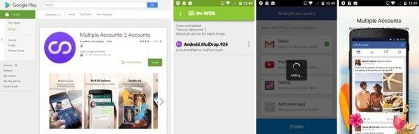Новый вирус атакует не менее миллиона пользователей  Более миллиона Android-смартфонов заражены трояном Android.MulDrop.924, который распространялся в Google Play. Вредоносное ПО скачивает приложения без ведома пользователя, предлагает установить их, показывает навязчивую рекламу, сообщают аналитики компании «Доктор Веб».