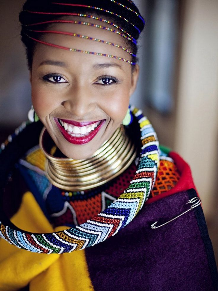 South AFrican Wedding Ndebele bride
