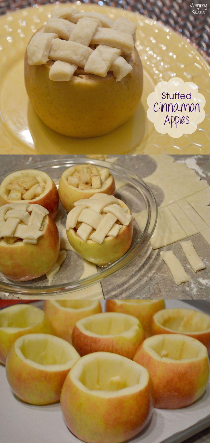 Baked Stuffed Cinnamon Apples - Mommy Scene