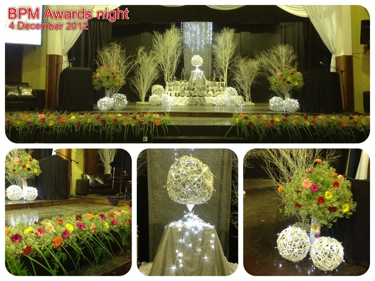 Stage décor :  Prize giving - Primary school
