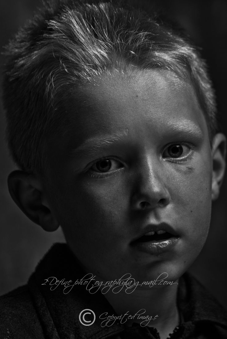 Black & White portrait of a young lad?