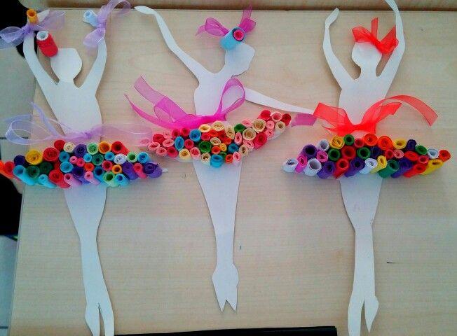 Krigami balerinler