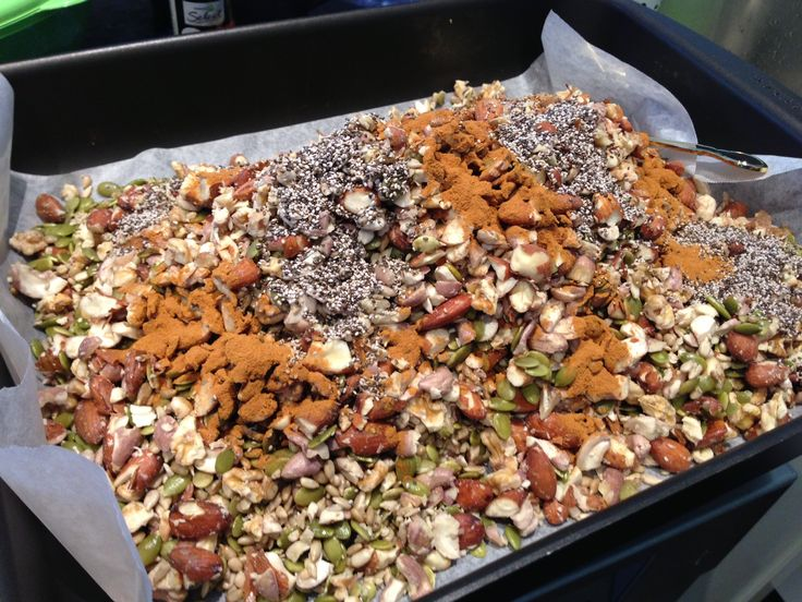 #Paleo #Granola using the #Thermomix