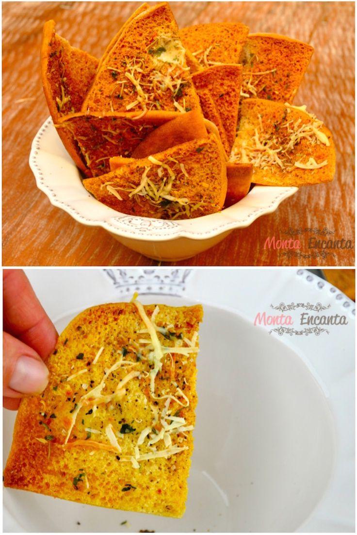 Torradinha pão sírio, de presente você ganha uma casa toda perfumada, o alecrim aromatiza e recebe os convidados, quase um abraço de boas vindas