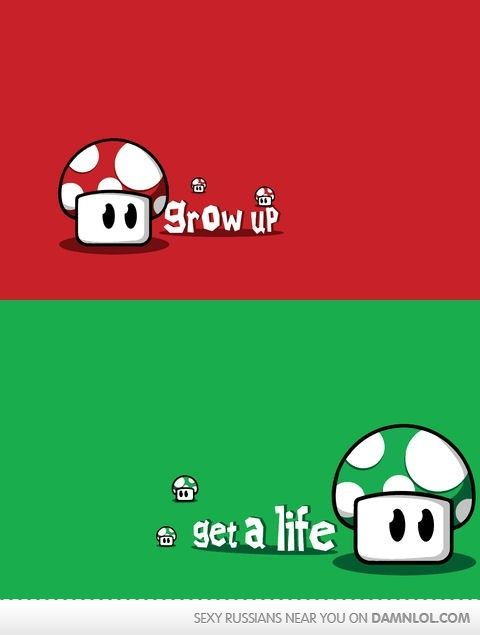 Life lessons in mario... I proved my teacher wrong when she said videogames damage your brain.