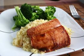 Meal Planning 101: Cookbook Review Recipe: Salmon with Hoisin Glaze