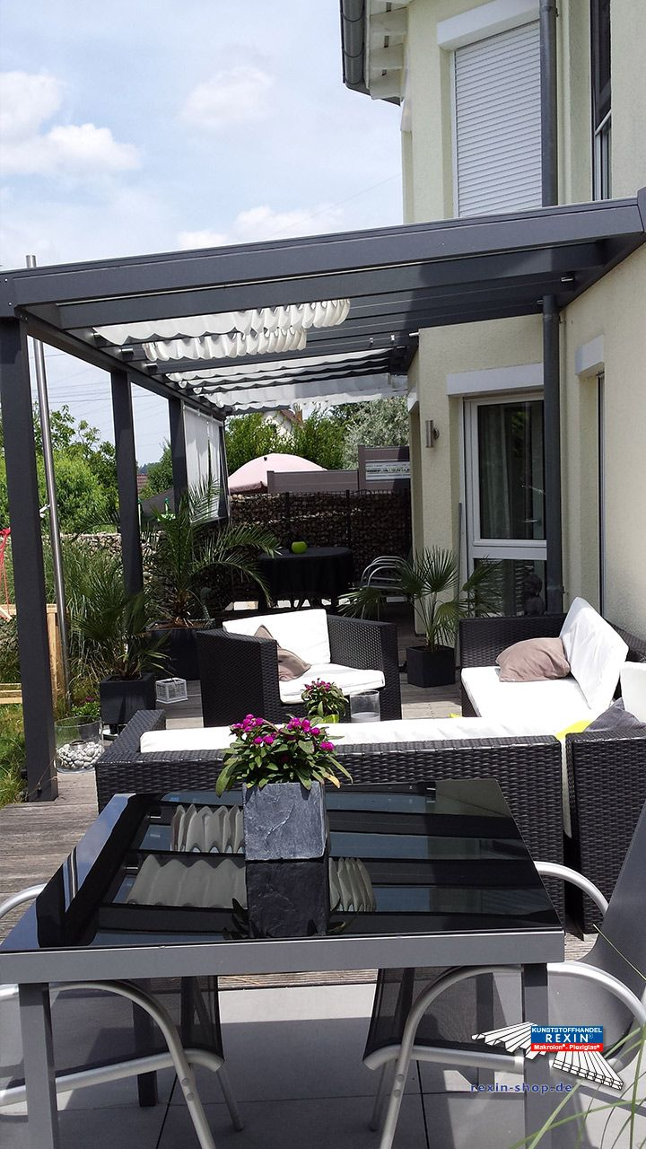 63 best alu terrassen berdachung rexopremium vsg glas kundenbilder images on pinterest. Black Bedroom Furniture Sets. Home Design Ideas