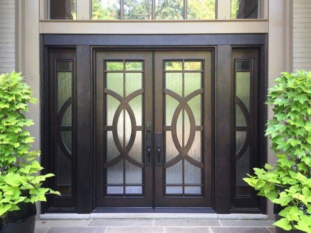 Lovely Double Basement Door