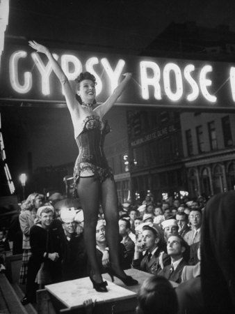 Feminine Wiles and Gypsy Rose Lee