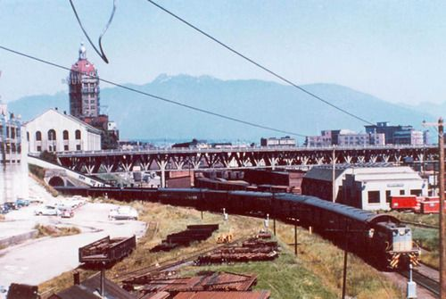 Early stages of the Viaduct